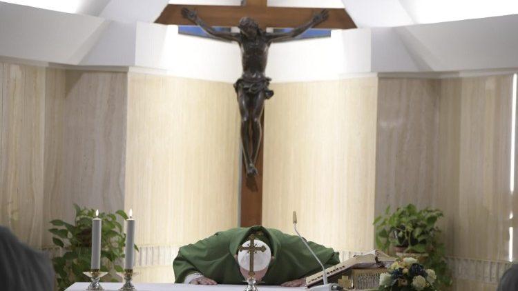 Papa afirma que o fim da vida é um encontro de misericórdia com Deus