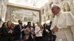 Pope meets with the Citadel of Peace Association