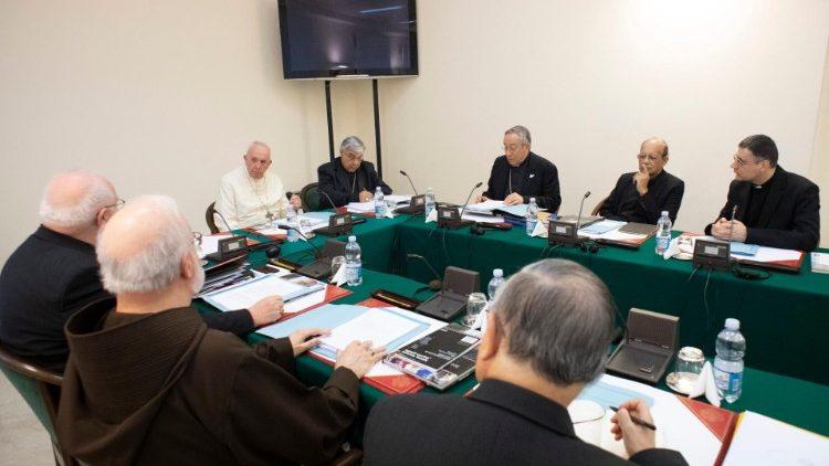Kết thúc khóa họp thứ 33 của Hội đồng Hồng y cố vấn