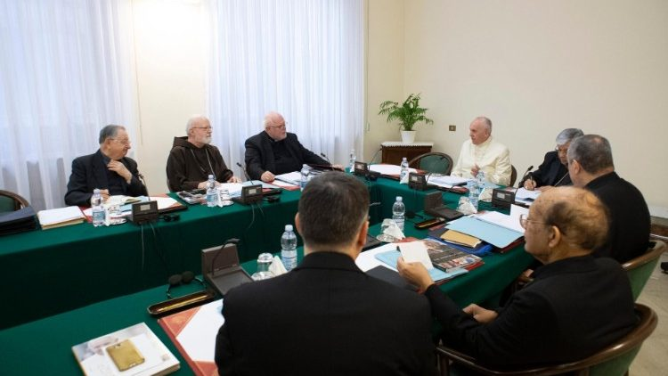 Pope Francis and the Council of Cardinal Advisors