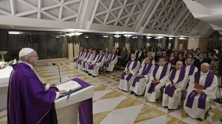 2018.12.11 Messa Santa Marta