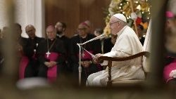 Pope Francis speaks at weekly General Audience