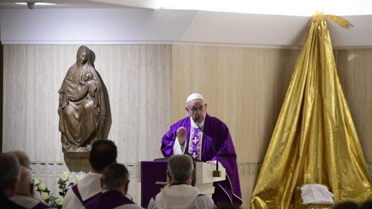 papa francisco santa marta san josé