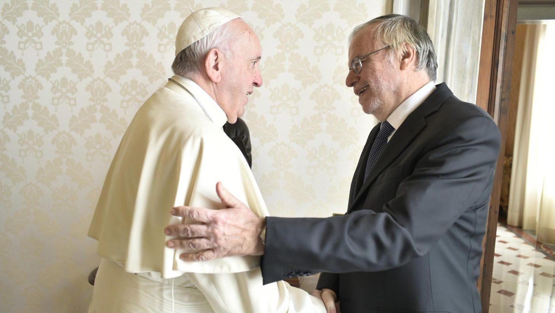 Papst: Ordensfrauen-Chefin und Sant´Egidio-Gründer zu Besuch