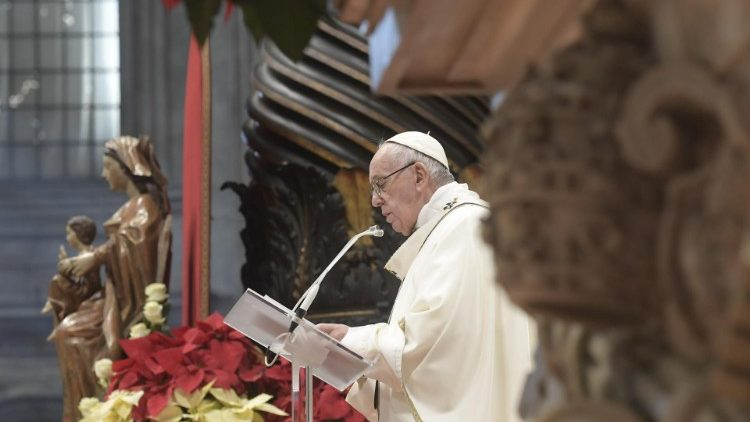 Pope Francis at Mass on the Solemnity of the Epiphany