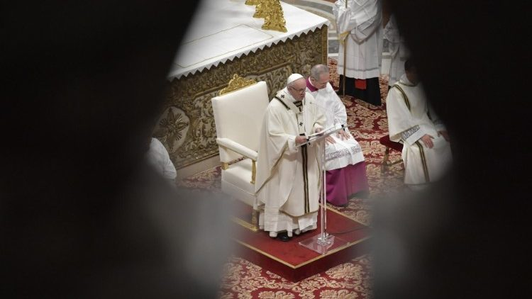 Pope Francis at Mass on the Epiphany