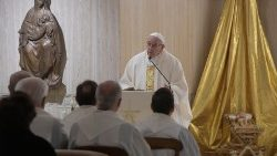 from the lectern of Pope Francis