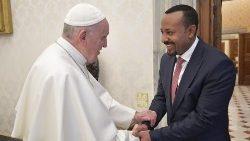 Pace con l'Eritrea e sviluppo dell'Africa nel colloquio tra il Papa e il premier dell'Etiopia