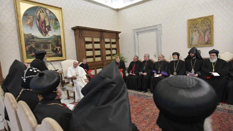 ĐTC tiếp Uỷ ban hỗn hợp quốc tế đối thoại thần học giữa Công giáo và Các Giáo hội Chính thống Đông phương