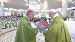 Pope Francis at Mass in Sacrofano