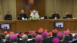Pope Francis opens the Protection of Minors in the Church Meeting