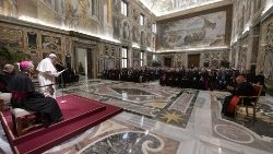 Pope francis addressing the members of the Plenary Assembly of the Pontifical Academy for Life