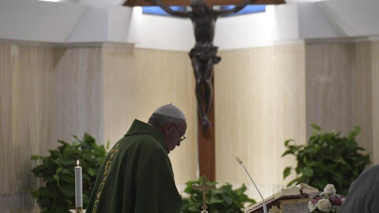 Le Pape à Sainte-Marthe: ne pas attendre pour se convertir au Seigneur Cq5dam.thumbnail.cropped.750.422