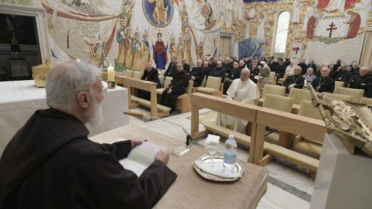 Pregação da Quaresma do Frei Cantalamessa