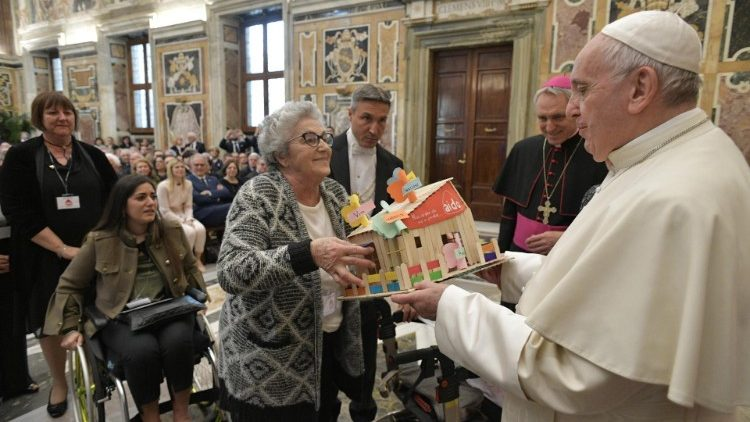 Pope Francis on Saturday meets with members of the Italian Association of Organ Donors