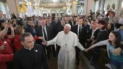 Pope in Bulgaria: Full text of address to Catholic community in Rakovski