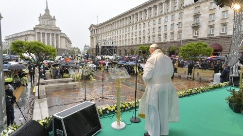Pope in Bulgaria: Full text of peace prayer meeting in Sofia