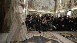 Pope Francis meets members of the Italian Catholic Association of Healthcare Workers