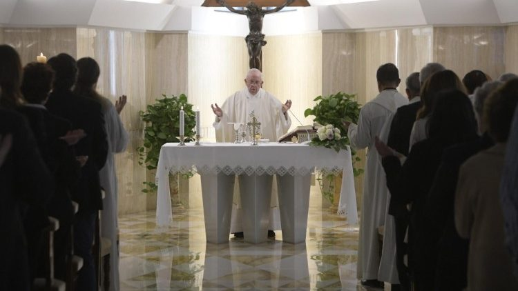 Pope at Mass: The peace of Jesus is like the calm of a deep sea - Vatican News