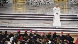 Der Papst in Bukarest