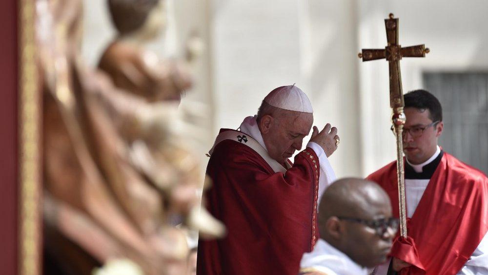 Resultado de imagen para papa misa de pentecostes