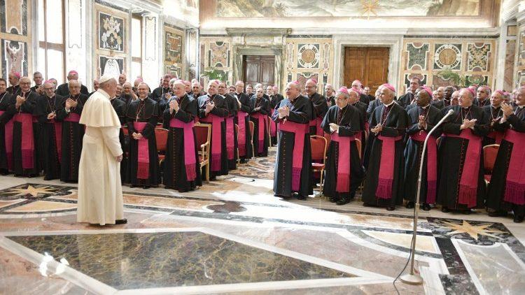 Encuentro con los Nuncios Apostólicos