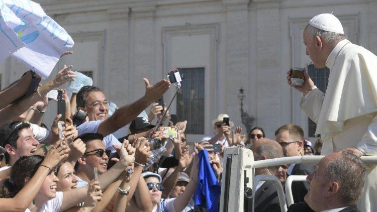 Papa Francisco na Audiência Geral de 26 de junho de 2019