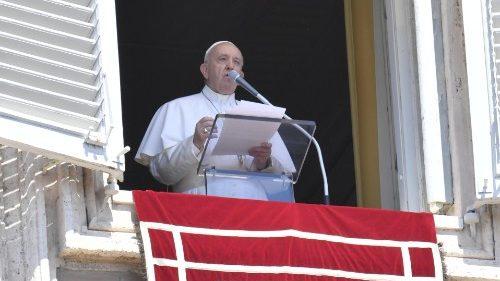 Pape Angélus du 18 août 2019