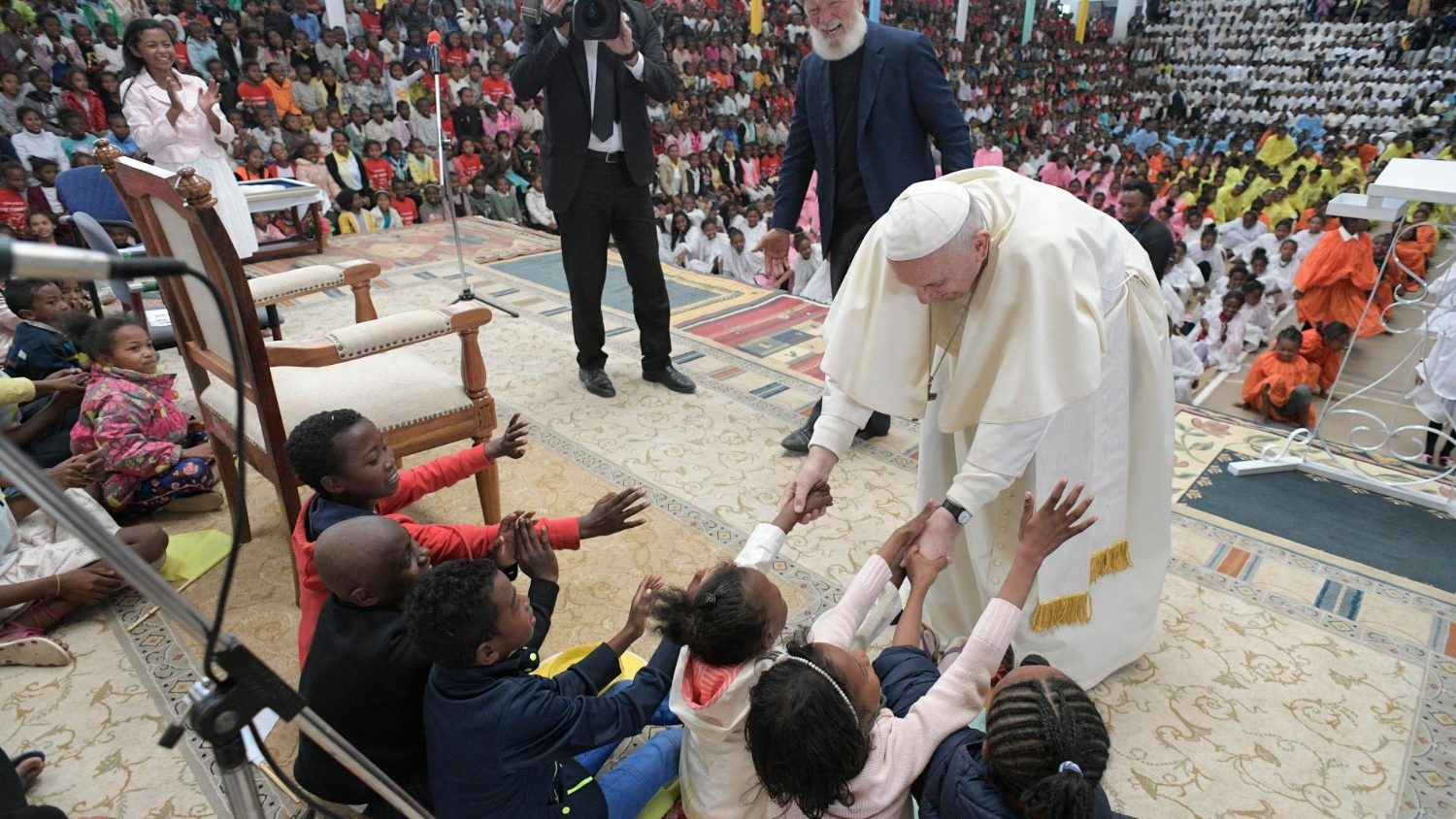 """Pope at """"City of Friendship"""" in Madagascar: poverty is not ..."""