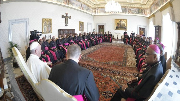 "2019.09.13 Papa Francesco - Presuli della Conferenza Episcopale dell'India, in Visita ""ad Limina Apostolorum"""