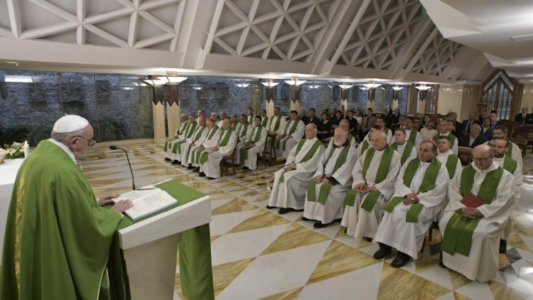 Папа: священнослужение – дар, а не должность