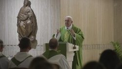 Mass of Pope Francis in the chapel of Casa Santa Marta