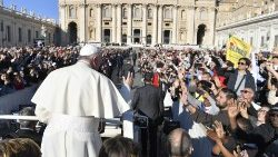 Pope Francis' General Audience: English summary