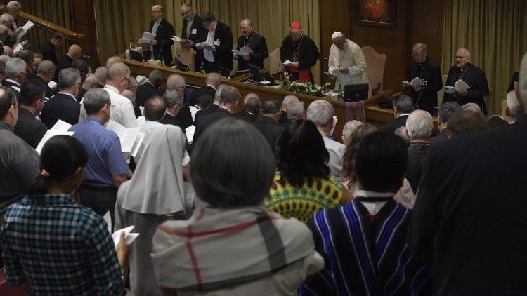 2019.10.15 Sinodo nona Congregazione Generale