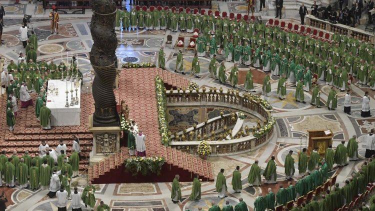 Santa Missa conclusiva do Sínodo dos Bispos