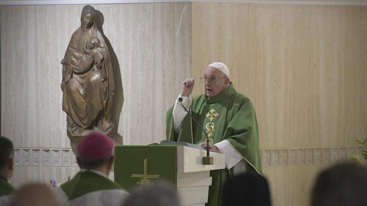 2019.10.29 Santa Marta Papa Francesco