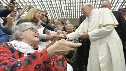 Pope Francis' Audience with Don Gnocchi Foundation