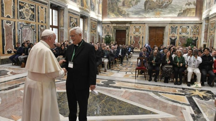 Pope Francis' Audience with Jesuit Social Justice and Ecology Secretariat