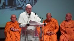 Pope Francis addresses Christian Leaders and Leaders of Other Religions