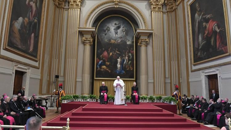 Pope addresses participants of the Evangelii Gaudium International Meeting