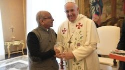 Pope Francis receives members of Catholic-inspired NGOs in the Vatican