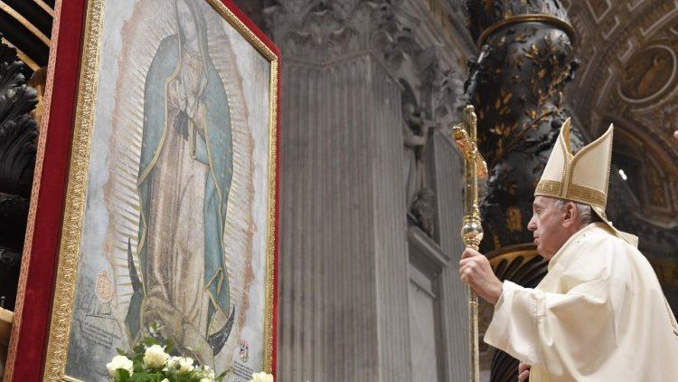 2019.12.12 Santa Messa nella festa della Madonna di Guadalupe