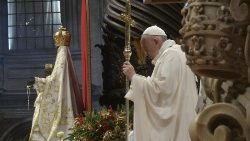 Pope Francis celebrates Mass on New Year's Day