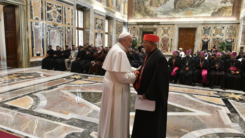 Đức Thánh Cha tiếp Học viện Giáo hoàng Etiopia nhân dịp kỷ niệm 100 năm thành lập
