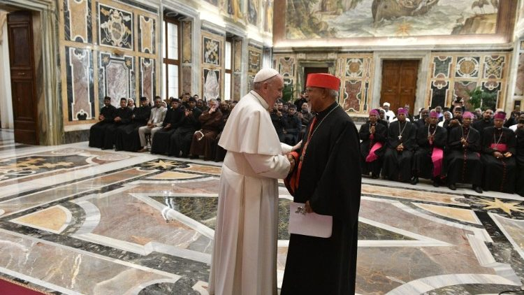 2020.01.11 Pontificio Collegio Etiopico in Vaticano