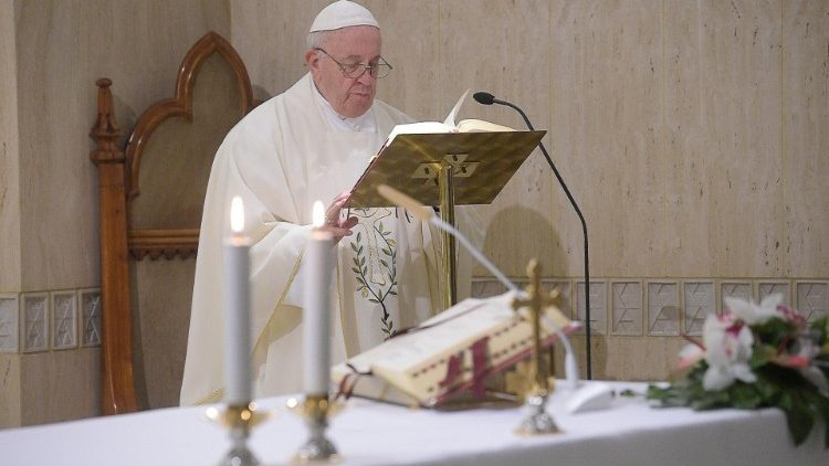 Pope at Mass: essence of life is our relationship with God - Vatican News