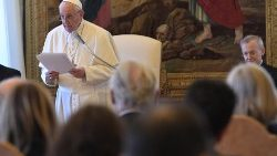 Pope Francis address Vatican Conference 'Education. The Global Compact'