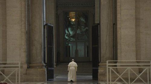 L'année 2020 du Pape: la force de la prière en temps de pandémie