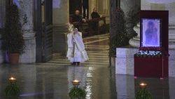 Papa reza pelo fim da pandemia: homilia integral