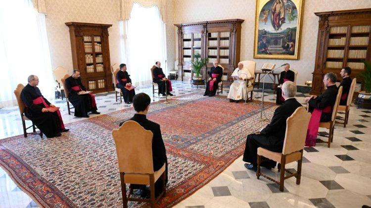 Papa Francisco durante a Audiência Geral